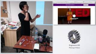 Make your own synth! - littleBits Synth Kit - HackerspaceSG Awesome Talks