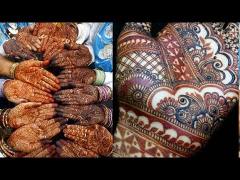 Karwachauth special 2019 !! Top 25 easy and simple mehandi designs for karwachauth 2019