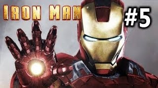 Iron Man Gameplay Walkthrough Part 5 - Maggia Compound [PS3]