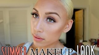Summer Makeup Tutorial Thumbnail