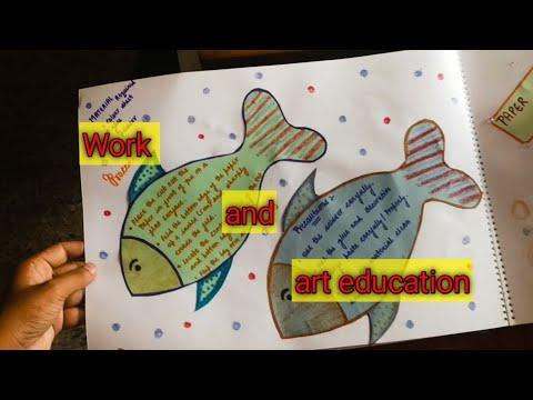 Work Education file | Art Education file for d.el.ed/ b.ed