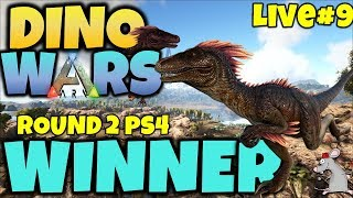ARK DINO WARS #9 ROUND 2 PS4 LIVE! JOIN