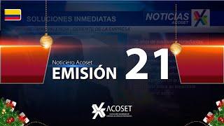 Noticiero Acoset - Emisión 21
