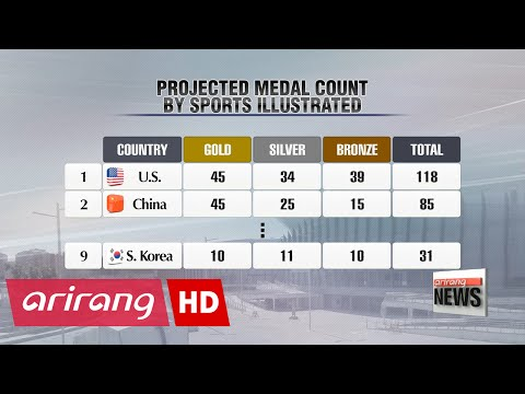 Korea projected to go 10 for 10 in Rio, Sports Illustrated says