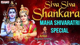 Karthik Masam Special - Siva Siva Shankara Telugu Devotional Jukebox | S.Janaki, Tanikella Bharani