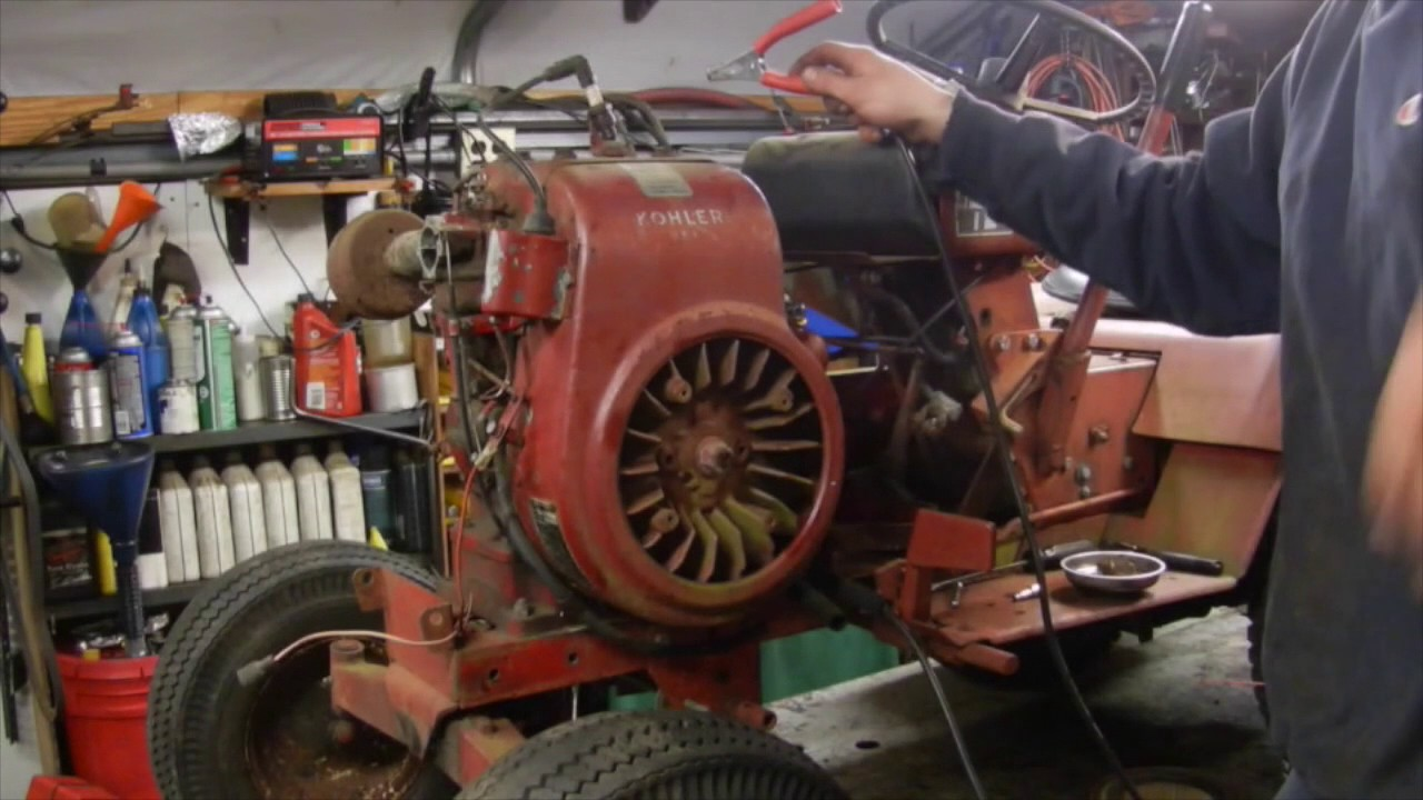 1969 Wheelhorse Charger 12 Repair- Part 1