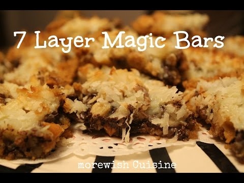 Seven Layer Magic Cookie Bars By Morewish