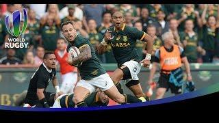 Francois Hougaard's amazing try for Springboks v All Blacks named try of the year 2014
