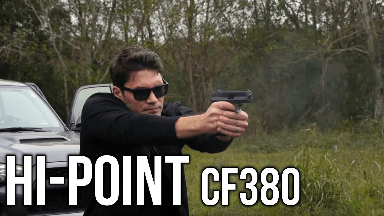 Hi-Point CF380  380 Pistol Review & Mud Water Test