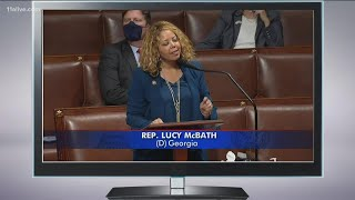 McBath shows support for George Floyd Justice in Policing Act