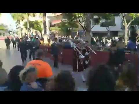 La Legión desfila un año más en el Lunes Santo de Algeciras
