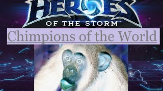 [Heroes of the Storm] Chimp Style!: 5 Support, 4 Healing Wards [strong language]