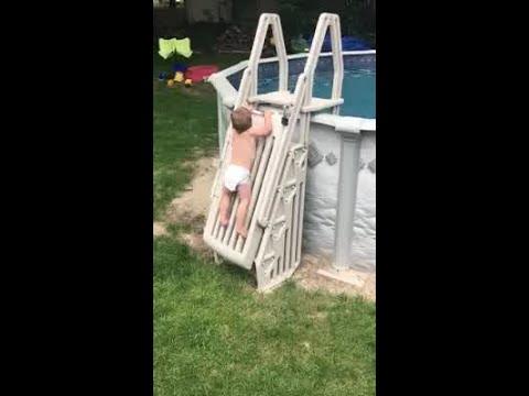 Pool Ladder Incident