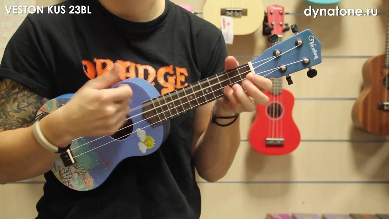 Унылый обзор гавайской гитары укулеле сопрано Andoer с aliexpress .