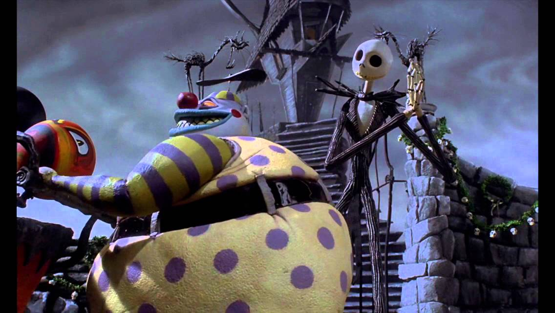 The Nightmare Before Christmas (Making Christmas Scene) - YouTube
