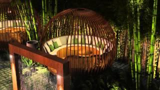 Garden cafe design