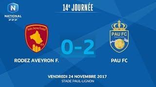 Rodez vs Pau full match