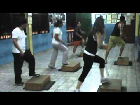 CLASE DE STEP DESDE BASICO HASTA TRANSICIONES BLOQUE 1, 2 Y 3........