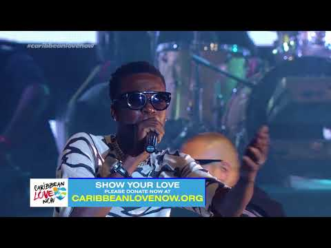 JAMATHON - Sean Paul & Chi Ching Ching Performance - Donate Now At caribbeanlovenow
