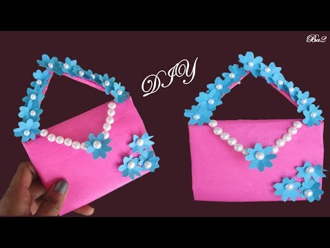 DIY Paper purse # How to make Purse with paper