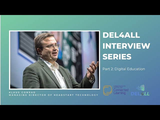 Klaus Conrad: Digital Education (Part 2 of 4)