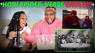 """How Spider-Man Into the Spider-Verse Should Have Ended"" REACTION!!!"