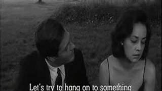La notte (Michelangelo Antonioni, 1961). Scena finale.