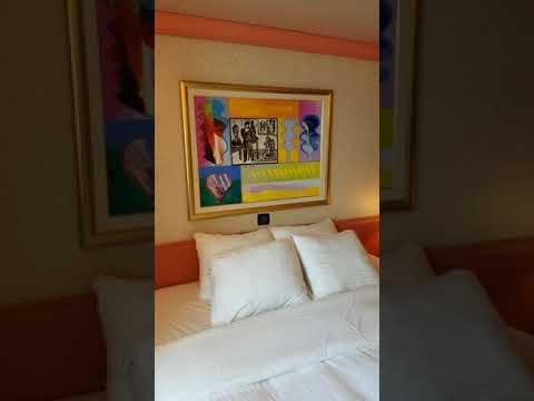 Cruise Cabin Tour: Carnival Liberty Oceanview Cabin