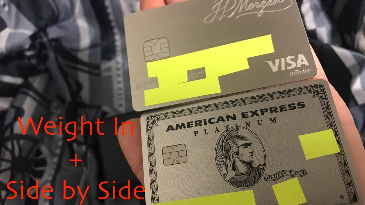 Weight In American Express Amex New Metal Platinum Card