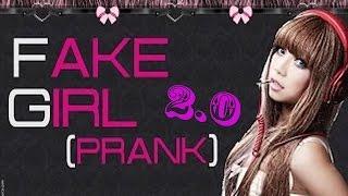 [OMEGLE] Prank: Fake-Girl 2.0