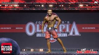 2016 Power PRO Moscow SEMIFINAL Mens Physique INDIVIDUAL PRESENTATION Semifinal