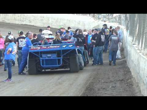 Late Model Kid Rides at Crystal Motor Speedway on 05-13-17.