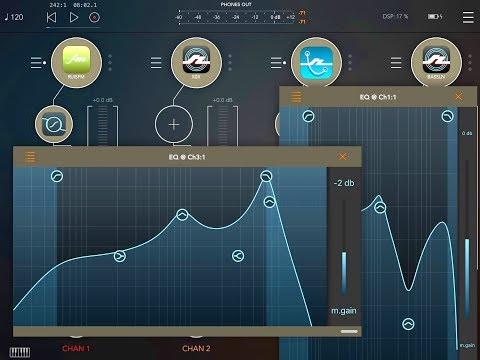 PARAMETRIC EQUALIZER - A New And Excellent AUV3 EQ for iPhone & iPad