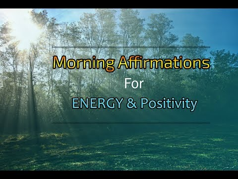 Morning affirmations for Success, Energy and Positivity [DAILY]