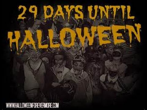 29 days until Halloween - YouTube