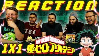"My Hero Academia [English Dub] 1x1 REACTION!! ""Izuku Midoriya: Origin"""