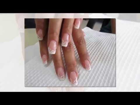 гелевые френчи на ногтях фото