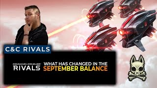 September Balance Patch Analysis   Command & Conquer Rivals