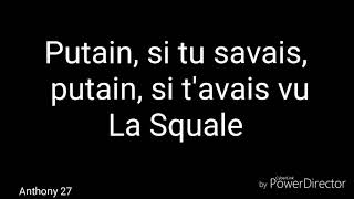 MOHA LA SQUALE - MA BELLE PAROLES/LYRICS. #MohaLaSquale #MaBelle