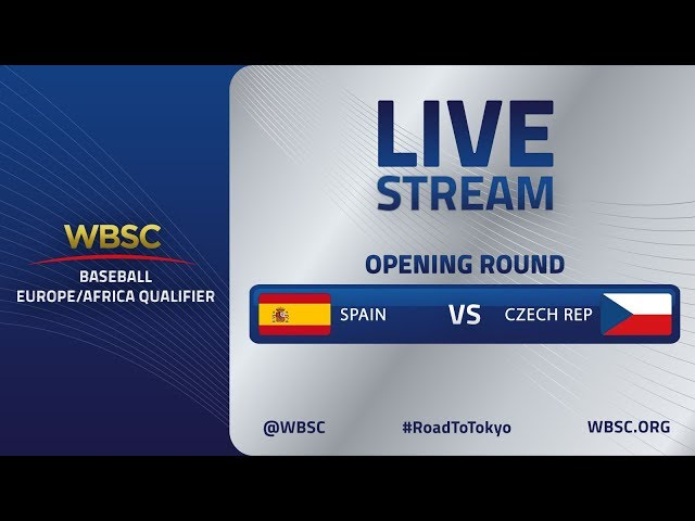 Spain v Czech Republic - Baseball Europe/Africa Olympic Qualifier