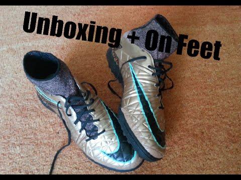 Unboxing + On Feet Nike HypervenomX proximo TF
