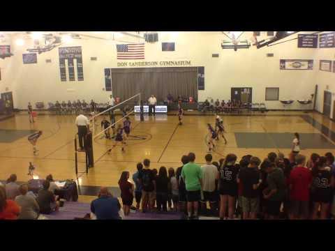 Northwest Christian High School vs Veritas 9/26/13 Game 1