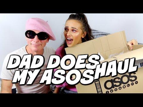 DAD DOES MY ASOS HAUL
