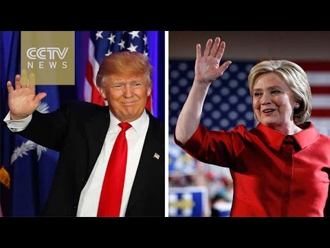 US Election: Polls show close race between Clinton and Trump