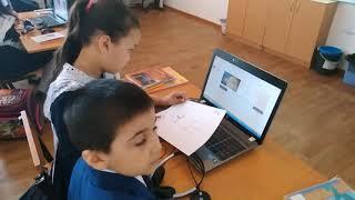 Урок информатики в 3 классе   Жунусова Атбасар Акмолинская область