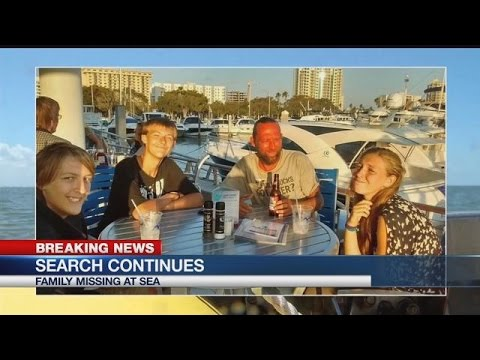 Search for missing boaters: Family holding out hope after flare spotted