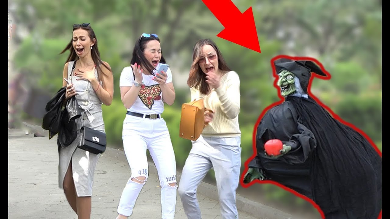 SCARY HALLOWEEN GHOST PRANK ? 2019 - AWESOME REACTIONS - Best of Just For Laughs