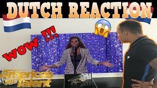 Glennis Grace: LIVE AUDITION On 'AGT' America's Got Talent 2018 REACTION WOW MOMENT DUTCH