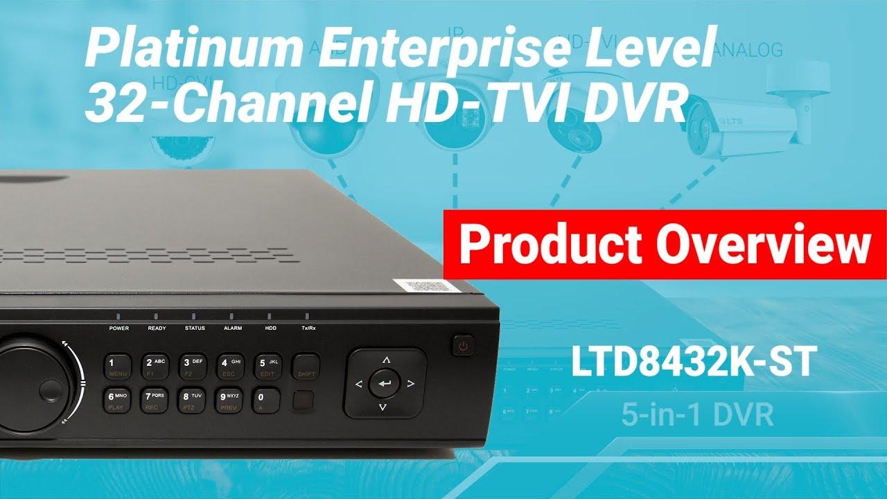 LT SECURITY LTD8432T-FA TVI DVR DRIVERS UPDATE