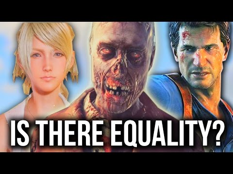 Uncharted 4, Equality In Games & YouTube Hate! (Feat. BrokenGamezHD)
